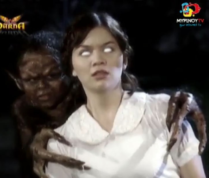 Babaeng Impakta (Nadine Samonte) possessed by Impy