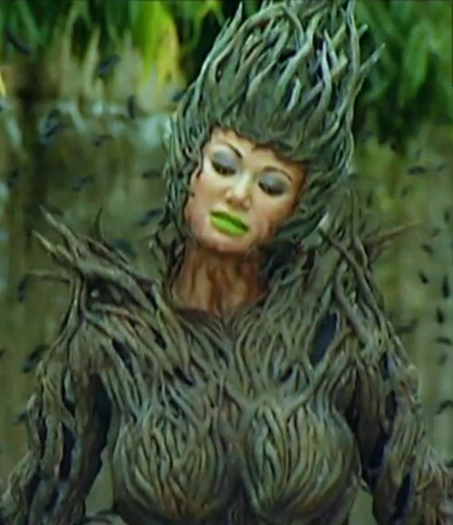 Babaeng Tuod Wood Witch (Darna enemy) (Francine Prieto version) in a forest