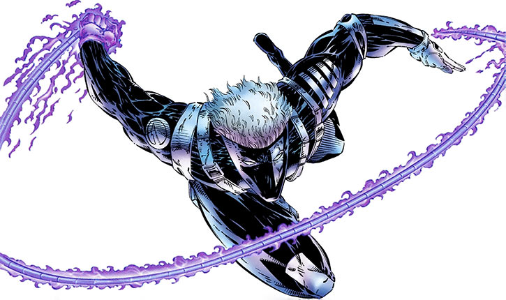 Backlash (Wildstorm Image Comics) early look, psi-whip out