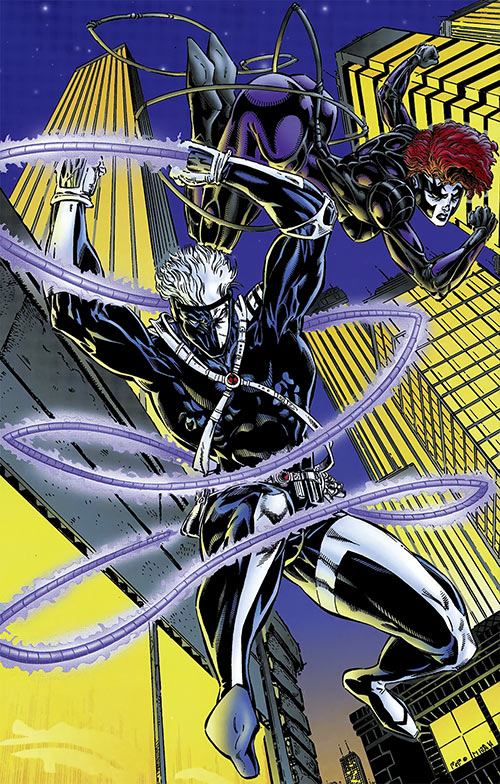 Backlash (1990s Wildstorm comics) and Taboo splash page pin up