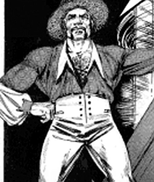 Bad Bad Leroy Brown by Jack Chick, in a strange costume