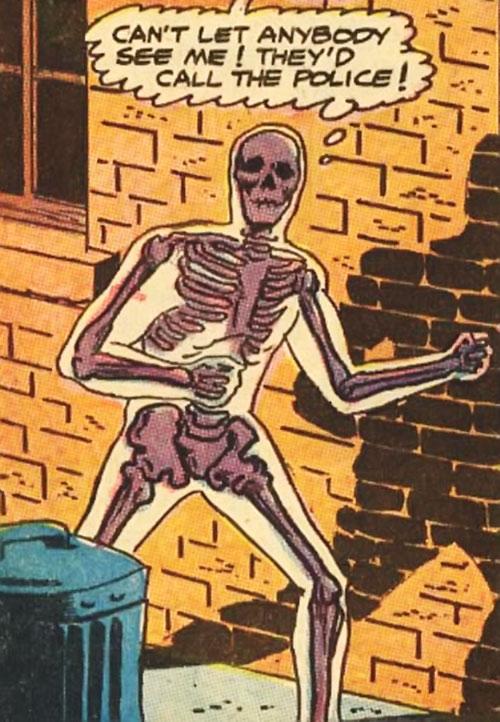 Bag o' Bones in superhuman form