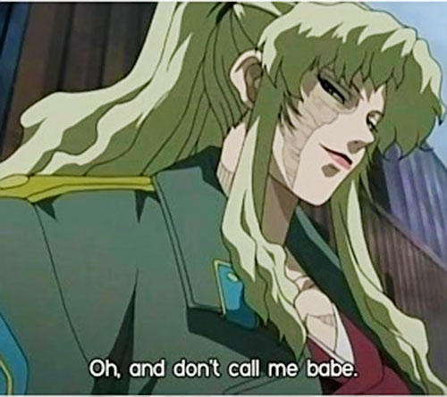 Balalaika of Black Lagoon smirking