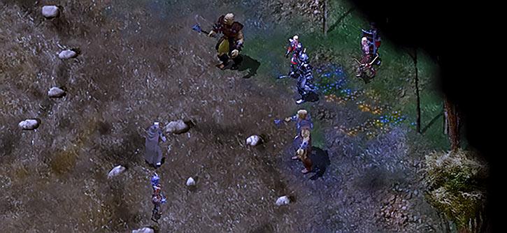 Baldur's Gate - Night ambush Gorion Saverok