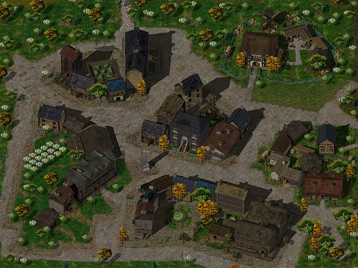 Baldur's Gate - Beregost - Big general view - Nearinfinity