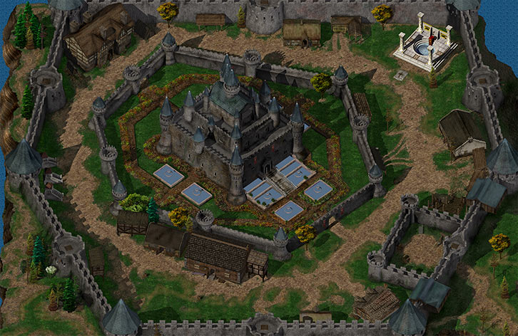 Baldur's Gate - Candlekeep - Big general view - Nearinfinity