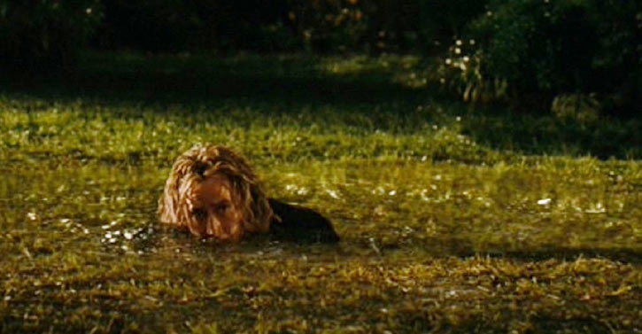 Balthazar Blake (Nicolas Cage in Disney's The Sorcerer's Apprentice) portable hole ground grass