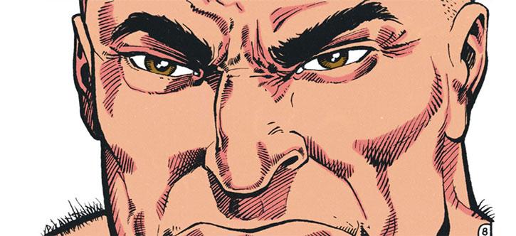 Ban face closeup