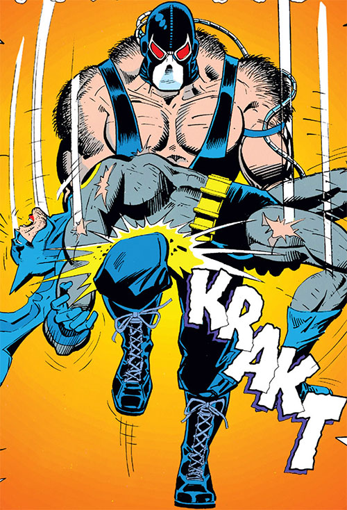 Bane (DC Comics) breaks Batman's back