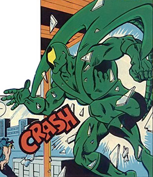 Banshee (Question enemy) (Charlton Comics) later version