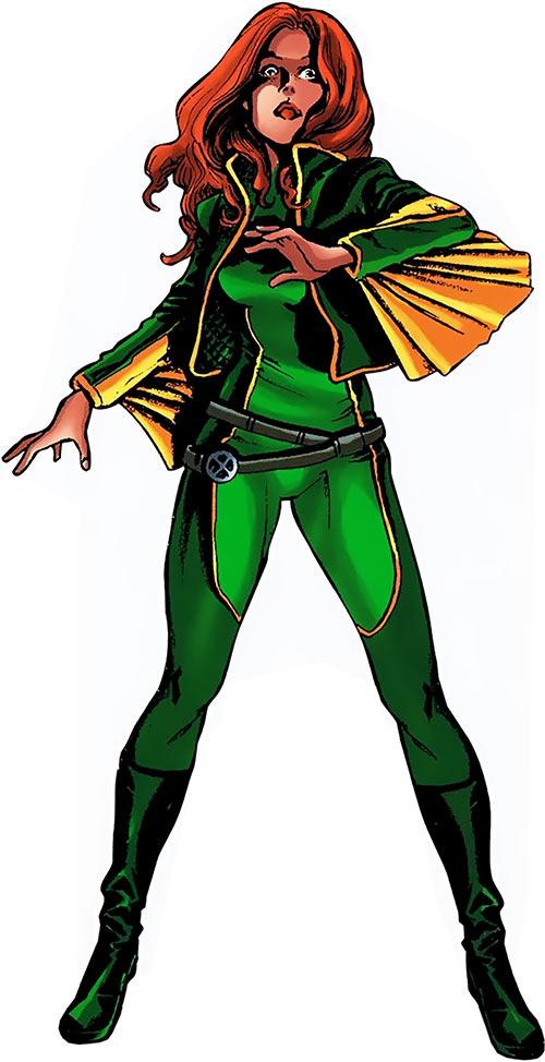 Banshee (Theresa Cassidy) (Marvel Comics) aka Siryn, in 2010 as a X-Factor member