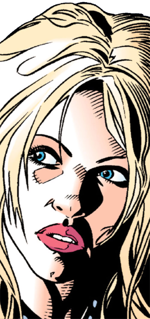 Barb Wire (Dark Horse Comics) face closeup
