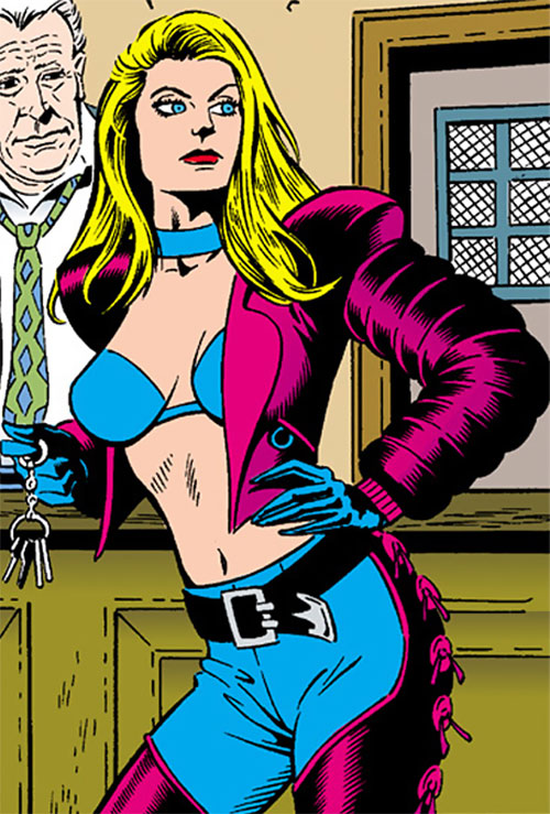 Barb Wire (Dark Horse Comics) early art