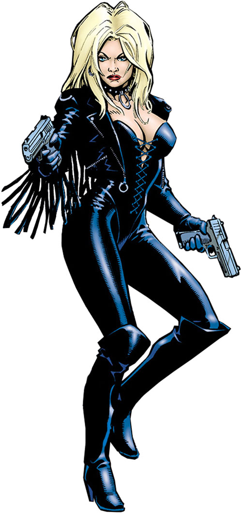 Barb Wire (Dark Horse Comics) by Tim Bradstreet, over a white background