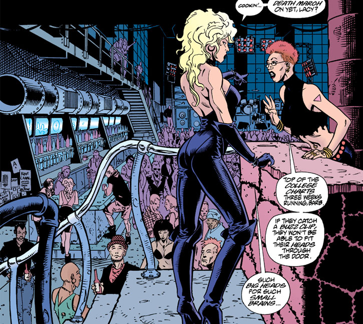 Barb Wire in the renovated Hammerhead Bar and Grille