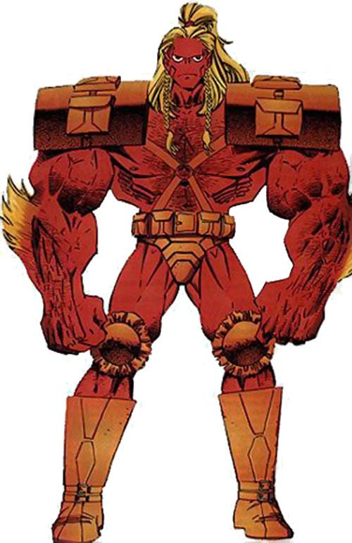 Barbaric of Freak Force (Savage Dragon Comics)