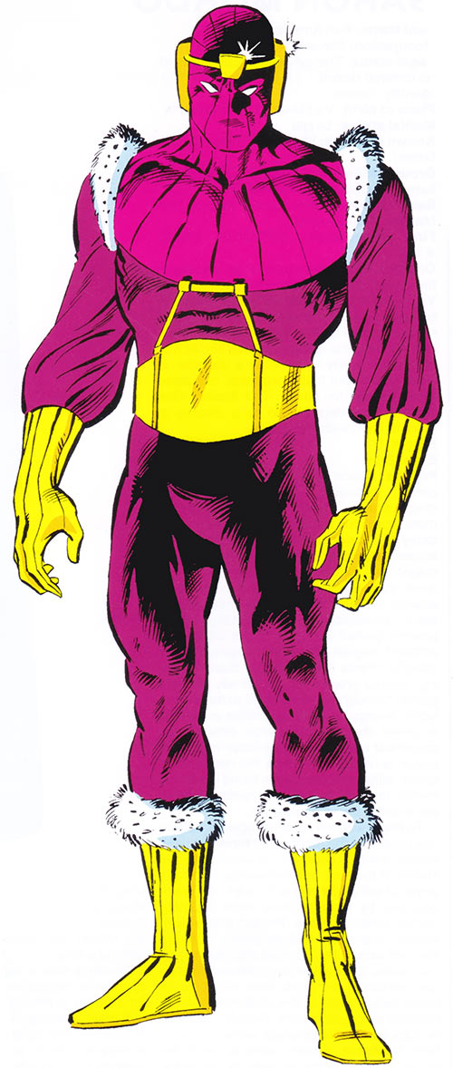Baron Helmut Zemo (Marvel Comics) during the 1980s