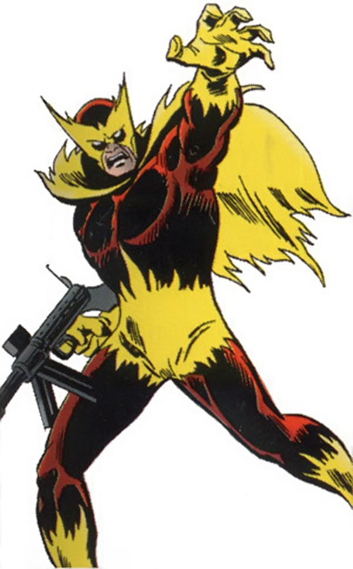 Baron Helmut Zemo (Marvel Comics) as Phoenix
