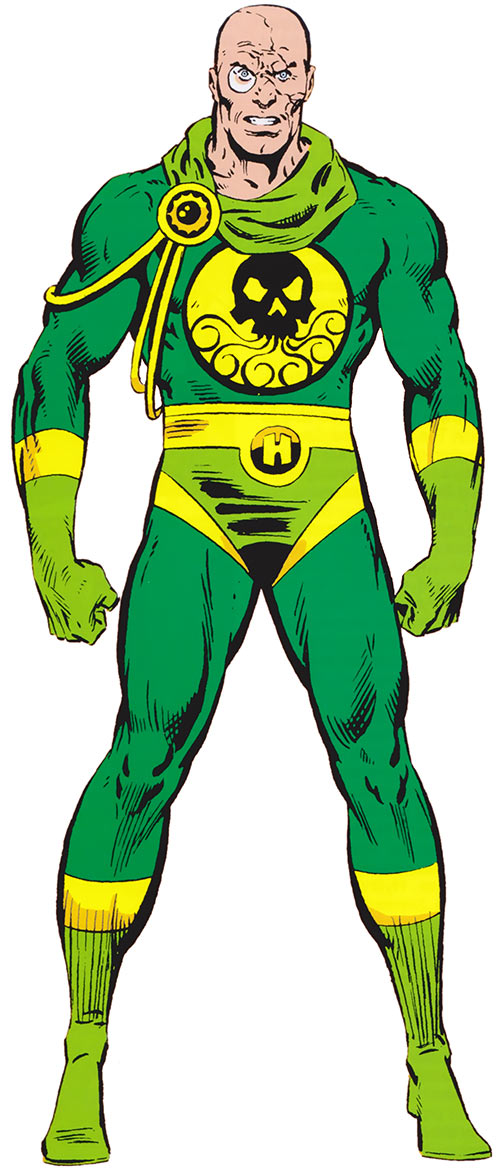 Baron Strucker (Marvel Comics) during the 1980s