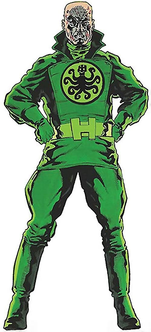 Baron Strucker (Marvel Comics) in a green Hydra uniform