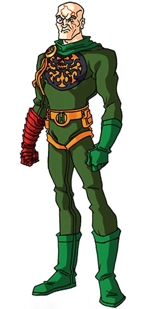 Baron Strucker (Marvel Comics) by RonnieThunderbolts