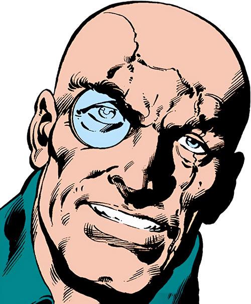 Baron Strucker (Marvel Comics) face closeup