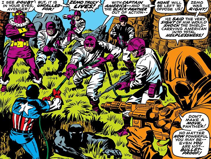 Baron Zemo returns (Marvel Comics)