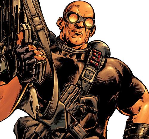Barricade (Captain America enemy) (Marvel Comics)