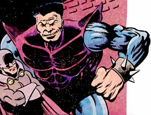 Barrier (Justin Hammer agent) (Marvel Comics) and Blacklash