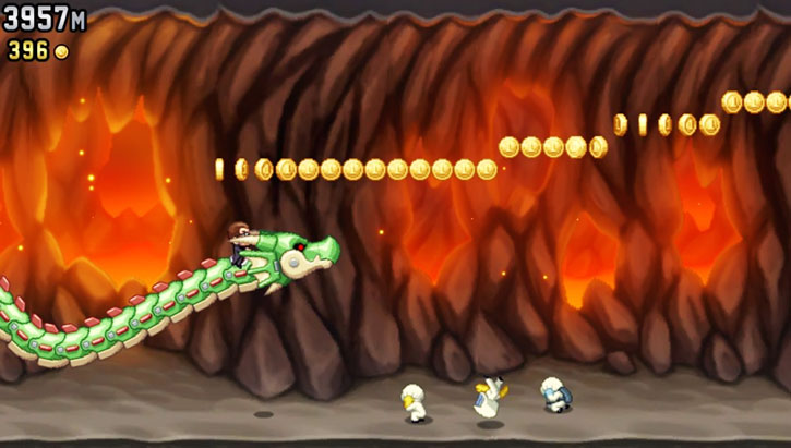 Jetpack Joyride game screenshot 3/4