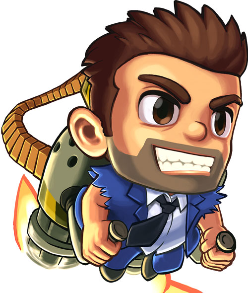 Barry Steakfries (Jetpack Joyride)