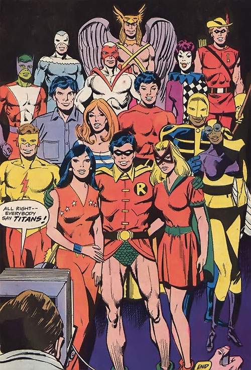 The Bronze Age Teen Titans
