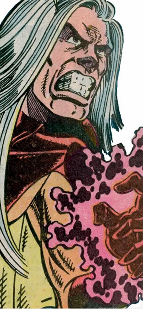 Bat-Wing of Rancor's Lieutenants (Guardians of the Galaxy enemy) (Marvel Comics) closeup