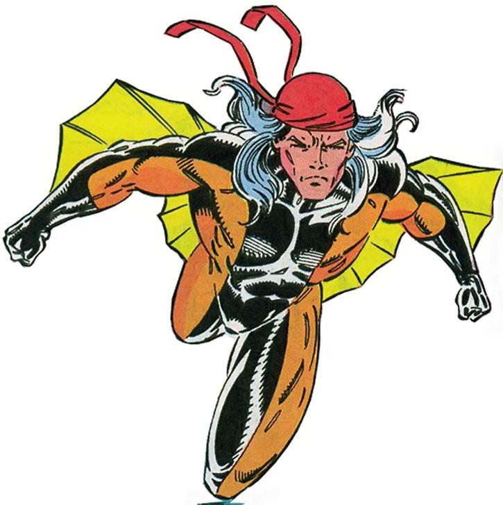 Bat Wing, one of Rancor's lieutenants