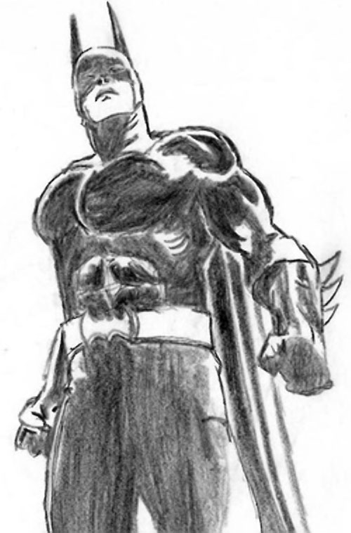 Drawing of Batboy (DC Heroes RPG) 3/3