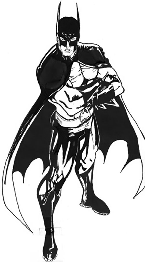Drawing of Batboy (DC Heroes RPG) 1/3