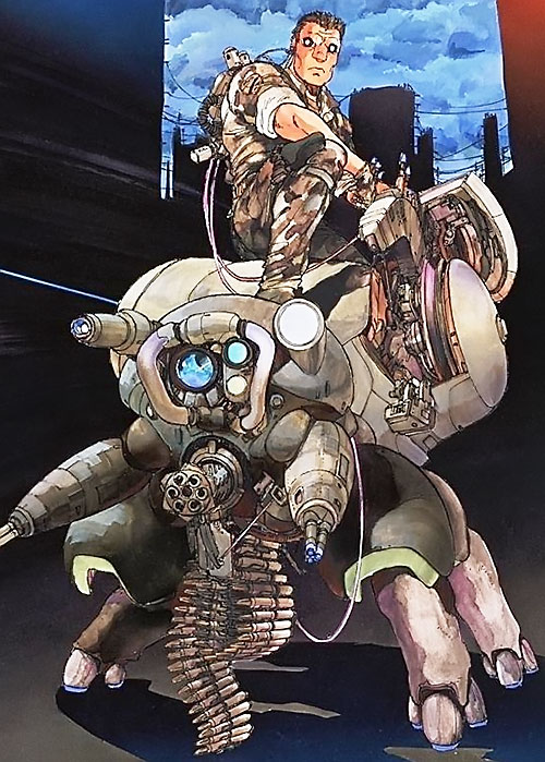 Bateau Batou Ghost In The Shell Manga Masamune