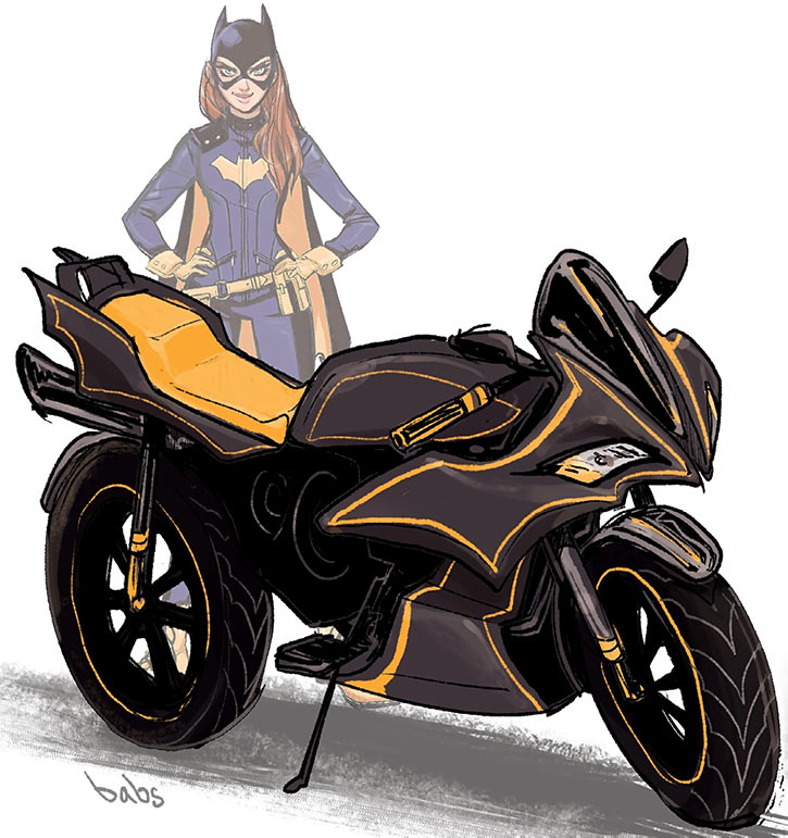 Batgirl of Burnside - DC Comics - Barbara Gordon - Bike
