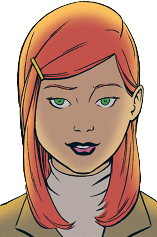 Barbara Gordon portrait (Batgirl Year One) (DC Comics)