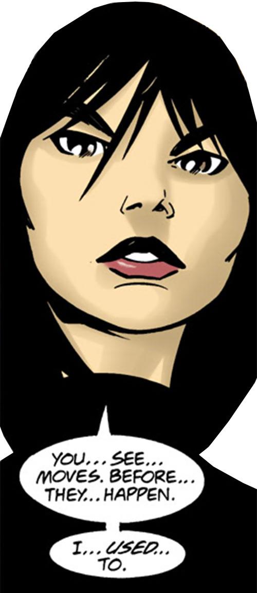 Batgirl (Classic Cassandra Cain) (DC Comics) looking intense