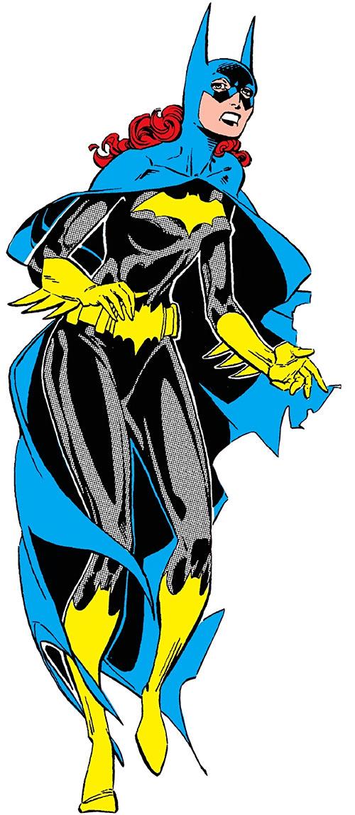 Batgirl - Barbara Gordon - DC Comics - 1980s Who's Who - Leonardi-Kesel
