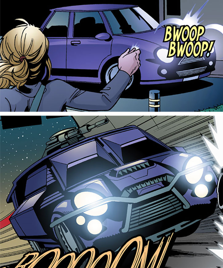 Batgirl (Stephanie Brown)'s car, the Compact