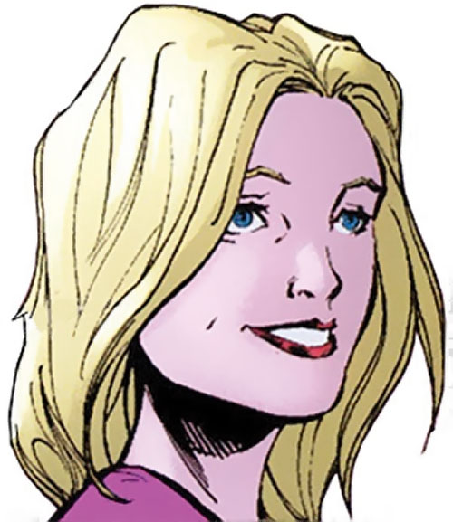 Batgirl (Stephanie Brown) (DC Comics) smiling