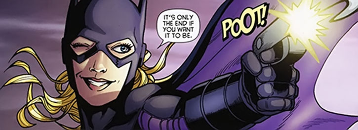 Batgirl (Stephanie Brown)'s last panel