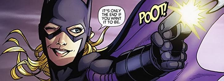 Batgirl (Stephanie Brown)'s last panel