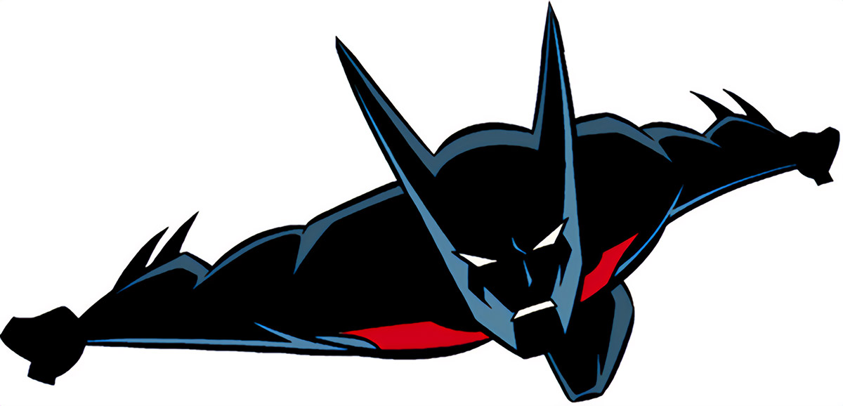 Batman Beyond gliding