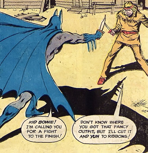 Batman Jr. (DC Comics Super-Sons) Bowie knife duel