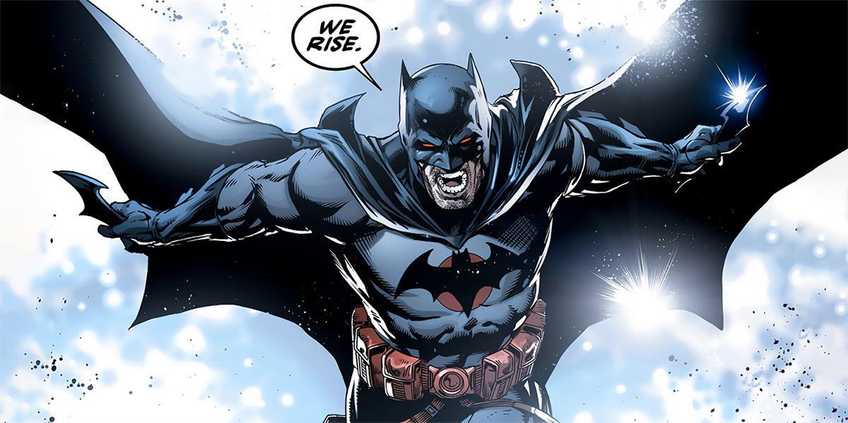 Batman (Thomas Wayne) (DC Comics) (Flashpoint timeline) we rise