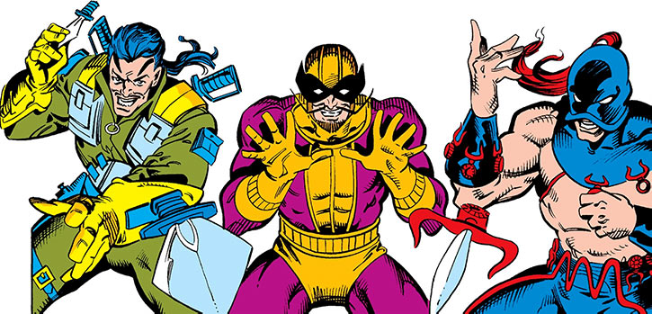 Batroc with Machete and Zaran