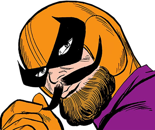 Batroc twirling his mustache